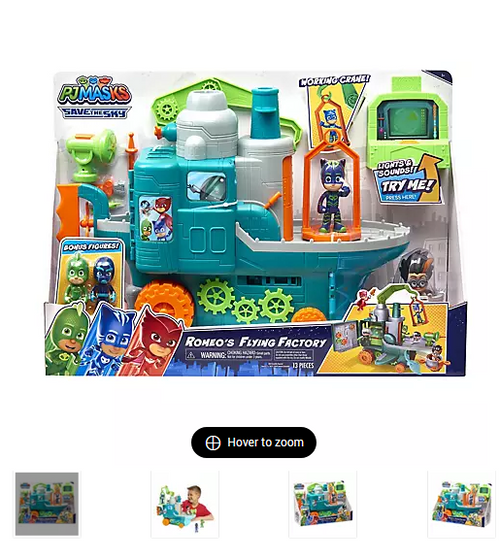 PJ Masks Romeo's Flying Factory Playset (95995 )