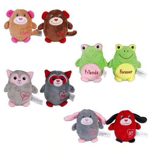 Valentine's Day 2-Piece Plush Friends Sets (322927)