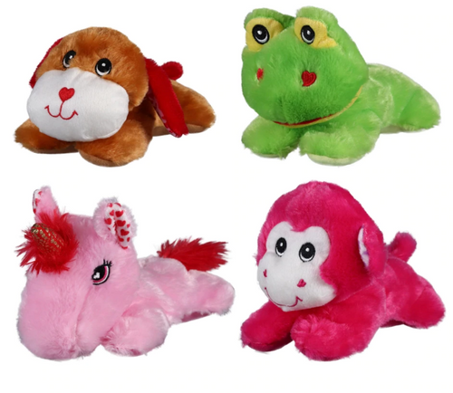Valentine's Floppy Plush Buddies