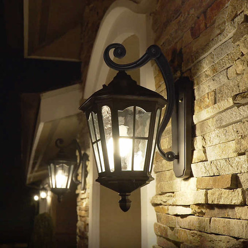 Koda Outdoor Wall Lantern (LM57752-1)