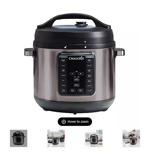 CrockPot 8 Qt. Express Crock Pressure Cooker (SCCPPC800DS)