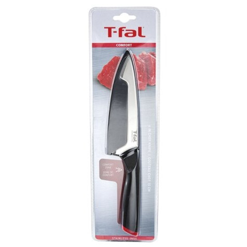 "T-fal Comfort 6"" Stainless Steel Chef Knife (238187)"