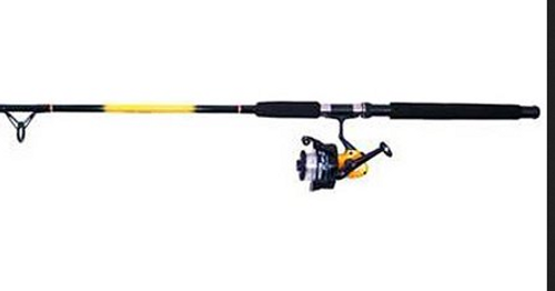 Master Rod 471615 7 ft. 1 Ball Bearing Medium Spinning Rod Combo - 2 Piece 0 10205 92531 2