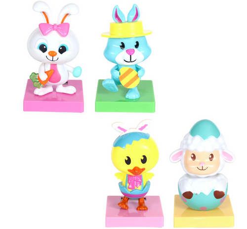 Easter Solar Dancers in Classic Shapes, 4.125 in. (327490)