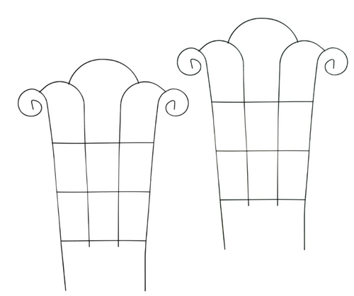 Metal Trellises, 24.25x18 in. (192175)