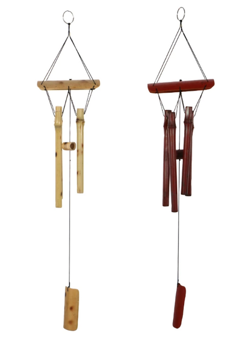 Bamboo Wind Chimes, 22x5 in. (303190)