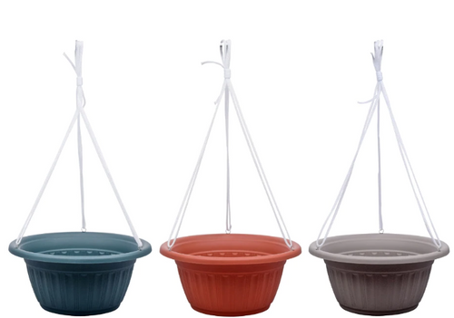 Standard Hanging Colored Planters