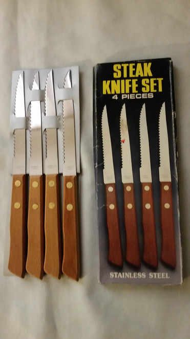 Steak Knife Set 4 pc Stainless Steel (sks4) (