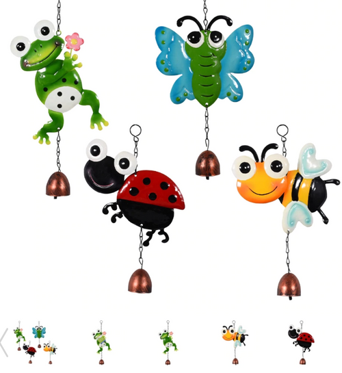 Whimsical Googly-Eyed Bells, 12.625x6.375 in. (303204)