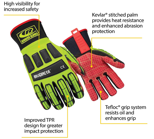 Ringers Roughneck Work Gloves (267v12)