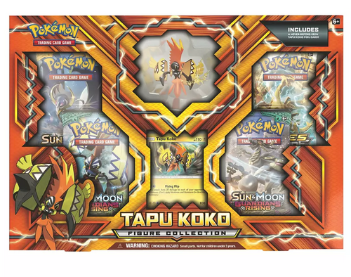 Pokemon TCG: Tapu Koko Figure Collection (254450 )