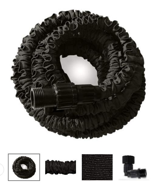 Black Flex-Able Pro-Grade Hose, 25 Ft.