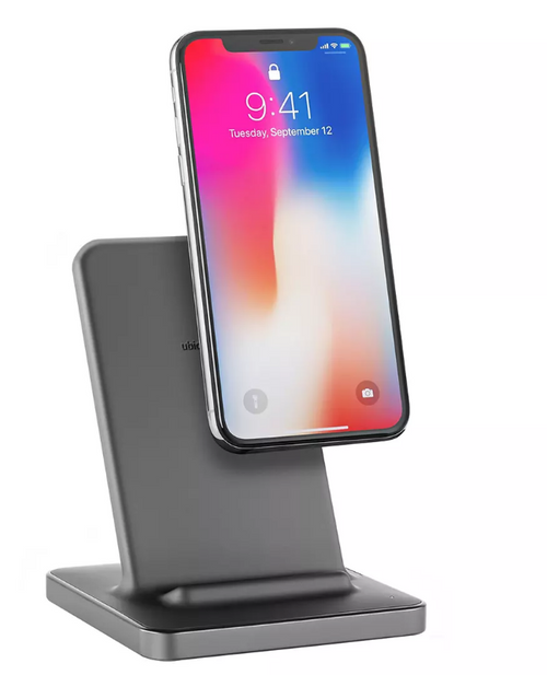 Ubio Labs 3-In-1 Wireless Charging Stand with Wall Adapter and 6' Cable ( WCB117B