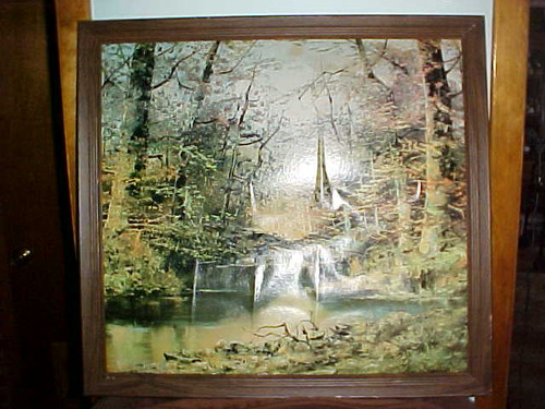 Tree & Pond Scene Picture Wall Decor (1819/L6)