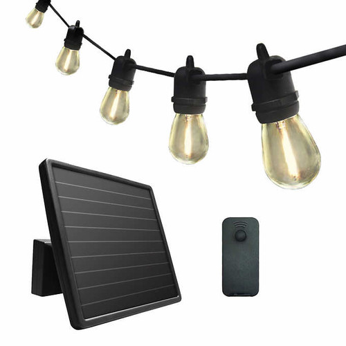 Sunforce 35' Solar String Lights with Remote Control (1600334)
