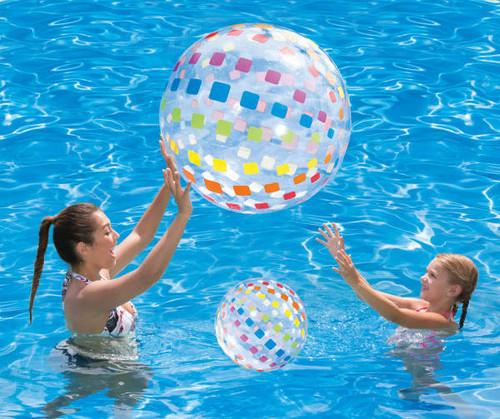 Inflatable Beach Balls, 2-Pack (ibb bl)