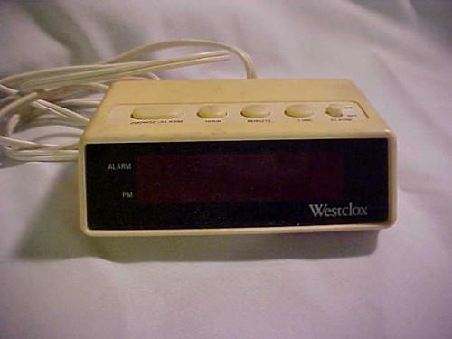 Westclox Digital Alarm Clock 22711
