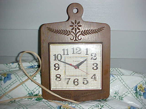 Vintage Timex Electric Kitchen/Wall Clock