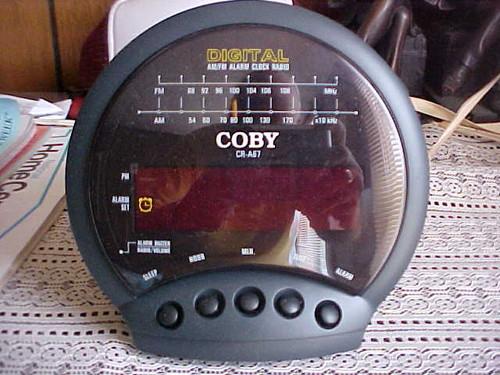 Coby Digital am/fm Alarm Clock Radio (CR A67)