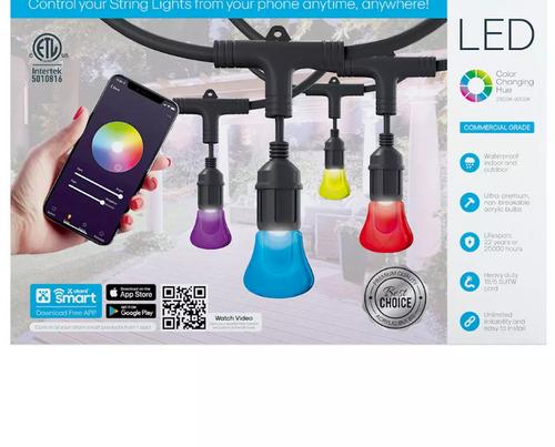 Atomi 24' Color Smart LED String Lights (AT1326 )
