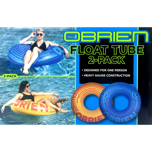 Obrien Float Tube 2-Pack Inflatable Water Lounge Pool Raft Lake River Floating (730918966296)