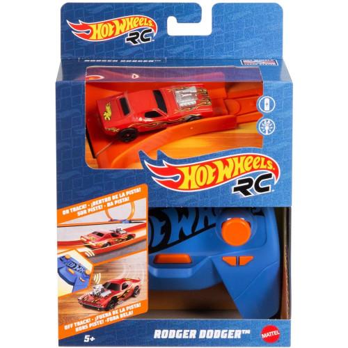 Hot Wheels R/C 1:64 Scale Rodger Dodger Radio-Control Car ( GWB73)