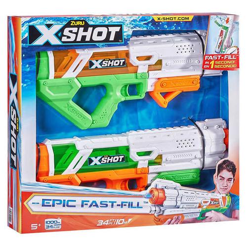 Zuru X-Shot Water Super Gun Blaster Soaker 2-pack (845218027414)