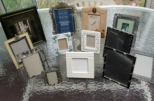 Fine Collectable Photo Frames Lot of 14 (lot 14 frames)