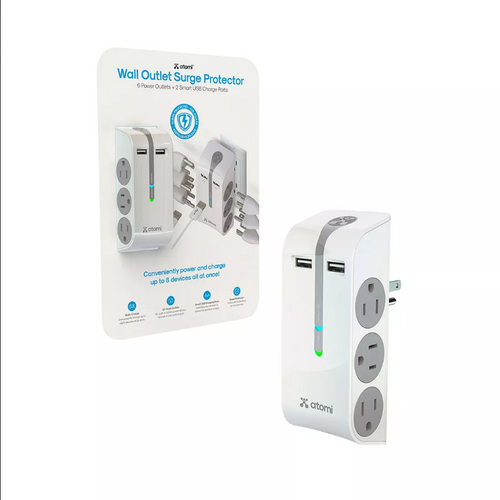 Atomi Charger & Surge Protectors Your Choice ( AT1628)