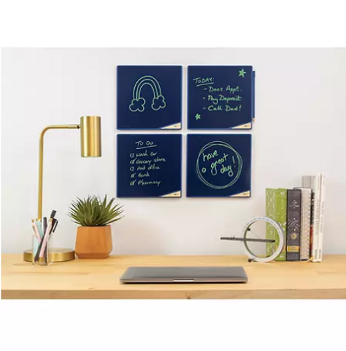 """Boogie Board VersaTiles, 8.25"""" x 8.25"""", Board with Bright Writing Display ( VT0212010)"""