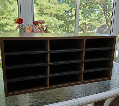 Wood Office/Desk Organizer (bill/org)
