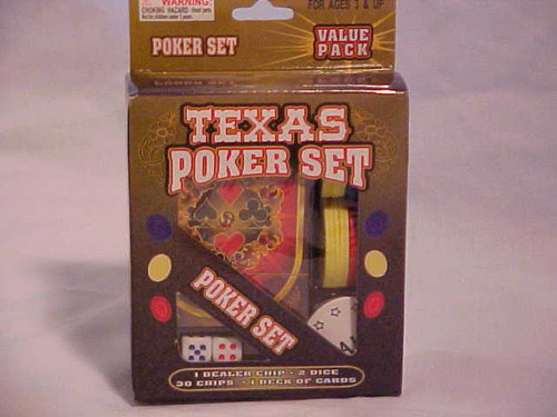 Texas Poker Set (8/10)