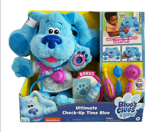 Blue's Clues & You Check-Up Time Blue Playset (49574)