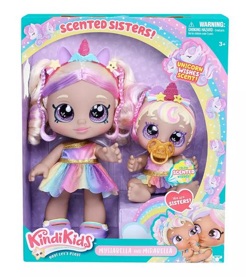 Kindi Kids Mystabella Sisters Doll Set ( 50215)