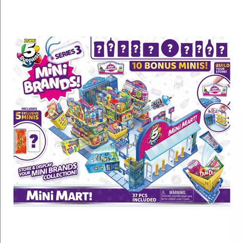 5 Surprise Mini Mart with 15 Bonus Mini Brands (77192 )