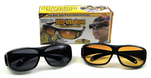As Seen on TV. HD Vision Glasses Set of 2 (0126-74707)