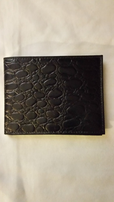 Black Vinyl Men Wallet (bvmw)