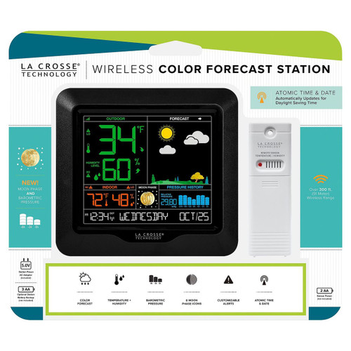 La Crosse Technology Wireless Color Forecast Station (980051604)