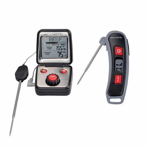 AcuRite 2-Pc. BBQ Thermometer Set (00842DIA2)