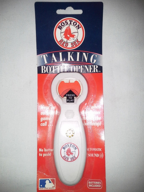 Boston Red Sox Talking Bottle Opener