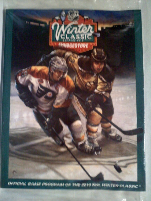 Collectible NHL Winter Classic Boston 2010 Official Game Program