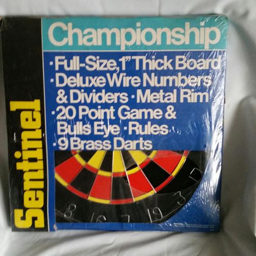 Sentinel Championship Dart Board