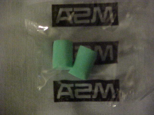 Disposal Foam Ear Plugs Buy the lot of 14 pair (17/14)