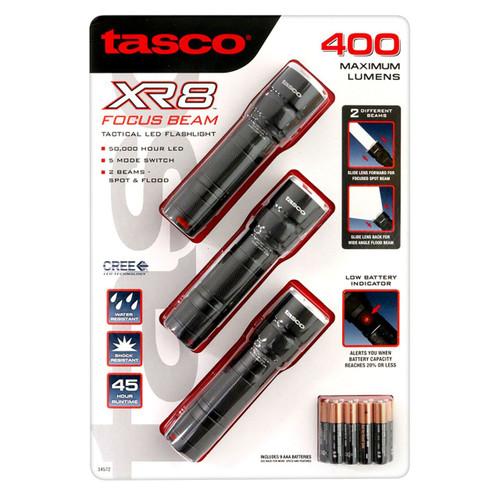 Tasco XR8 Focus Beam Flashlight (3-pk.) ( 274493)