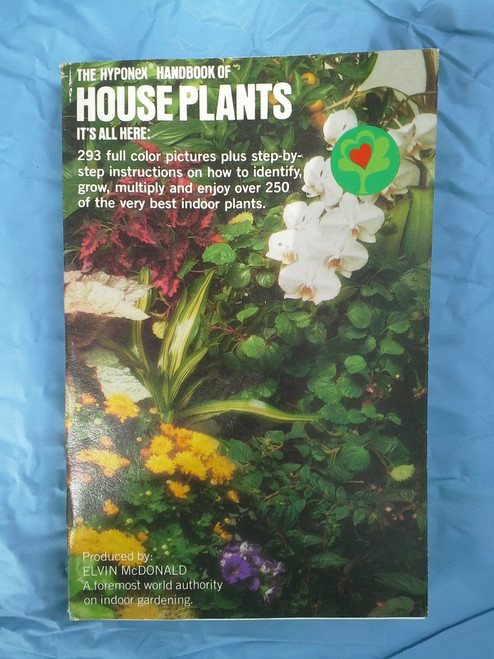 Hyponex Handboolk of Houseplants Paperback Buy the Lot and Save More