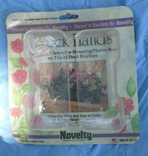 Novelty Deck Hands Flower Box Mount