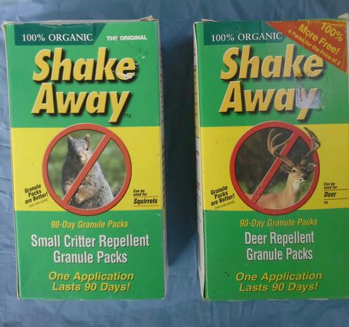 Shake Away 90Day Squirrels or Deer Repellent (714183800554)