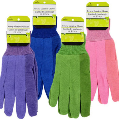 Ladies' Jersey Gardening Gloves Dozen Deal
