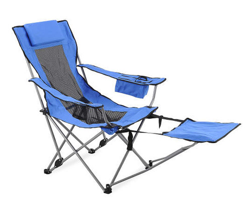 Easy Fold up Quad Chair with Footrest (8461)