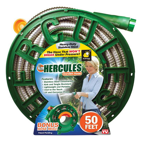 Hercules Garden Hose As Seen On TV 3/4 in. Dia. x 50 ft. L (11777-4 )